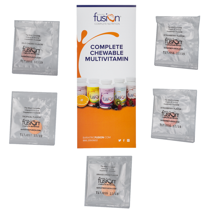 Complete Chewable Sample Pack - Bariatric Fusion