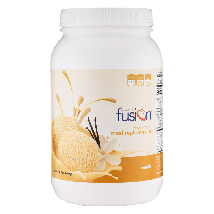 Vanilla High Protein Meal Replacement - Bariatric Fusion