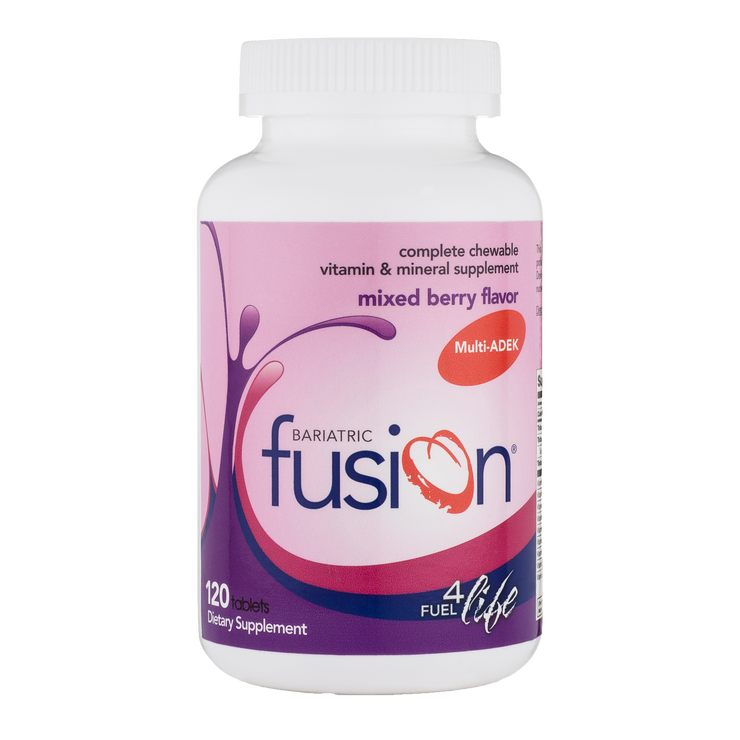 Mixed Berry Complete Chewable Bariatric ADEK Multivitamin - Bariatric Fusion