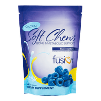 Blue Raspberry Bariatric Calcium Citrate Soft Chews - Bone & Metabolic Support