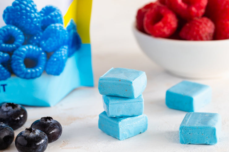 Blue Raspberry Bariatric Calcium Citrate Soft Chews - Bone & Metabolic Support - Bariatric Fusion