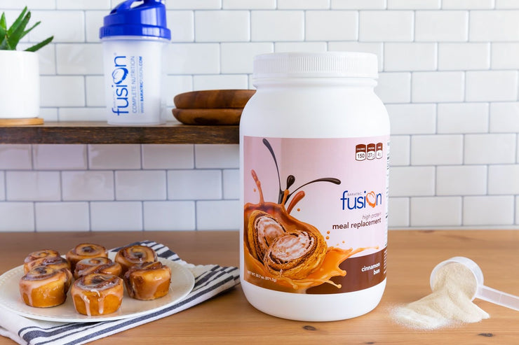 Cinnamon Bun High Protein Meal Replacement - Bariatric Fusion