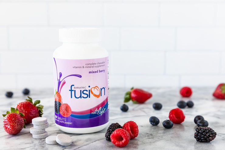 Mixed Berry Complete Chewable Bariatric Multivitamin - Bariatric Fusion