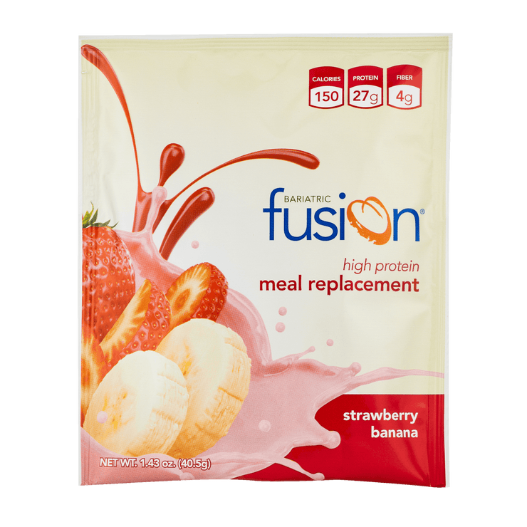 Strawberry Banana High Protein Meal Replacement - Single Serve Packet - Bariatric Fusion
