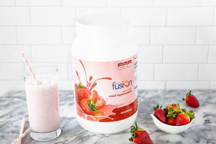 Strawberry High Protein Meal Replacement - Single Serve Packet - Bariatric Fusion