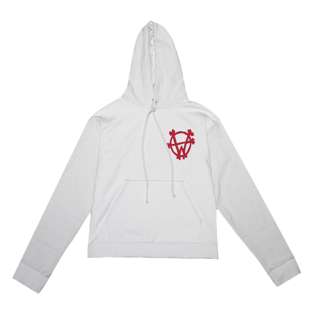 """Heartbreak"" Hoodie (Bone White)"
