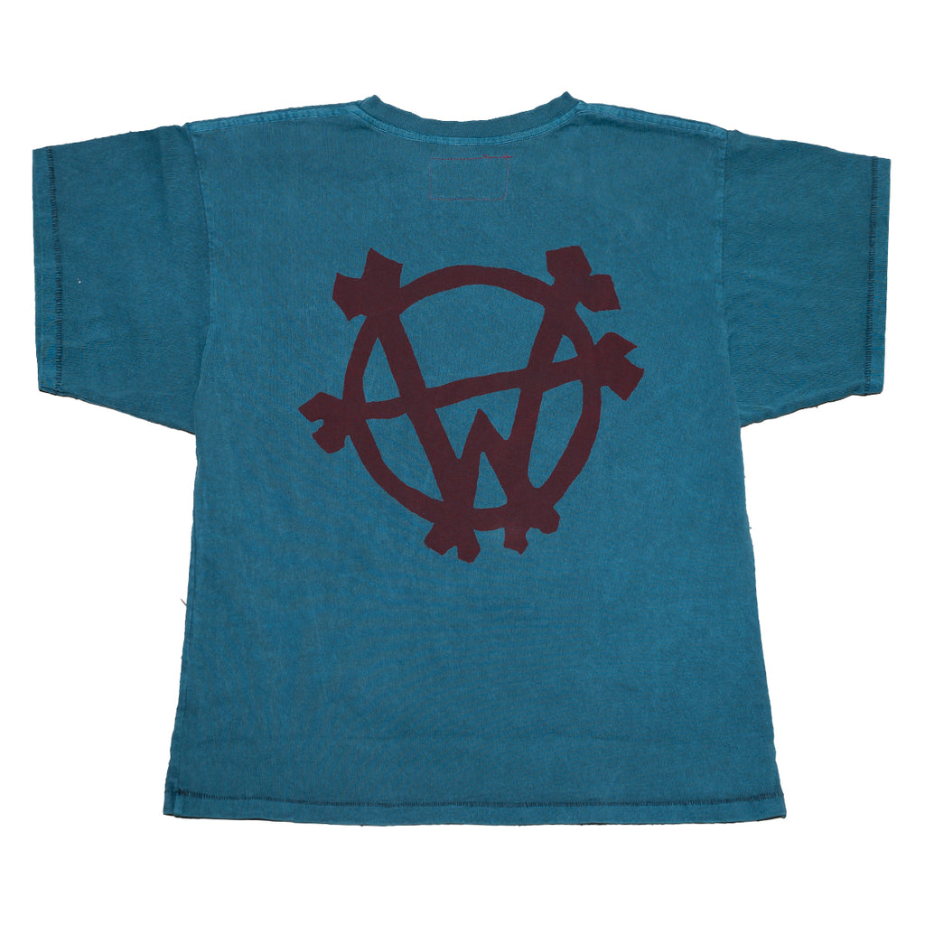 """Wolfpack"" Box T-Shirt (Turquoise)"