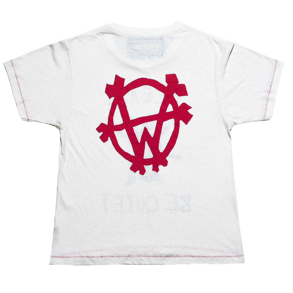 """Wolfpack"" Box T-Shirt (Bone White)"