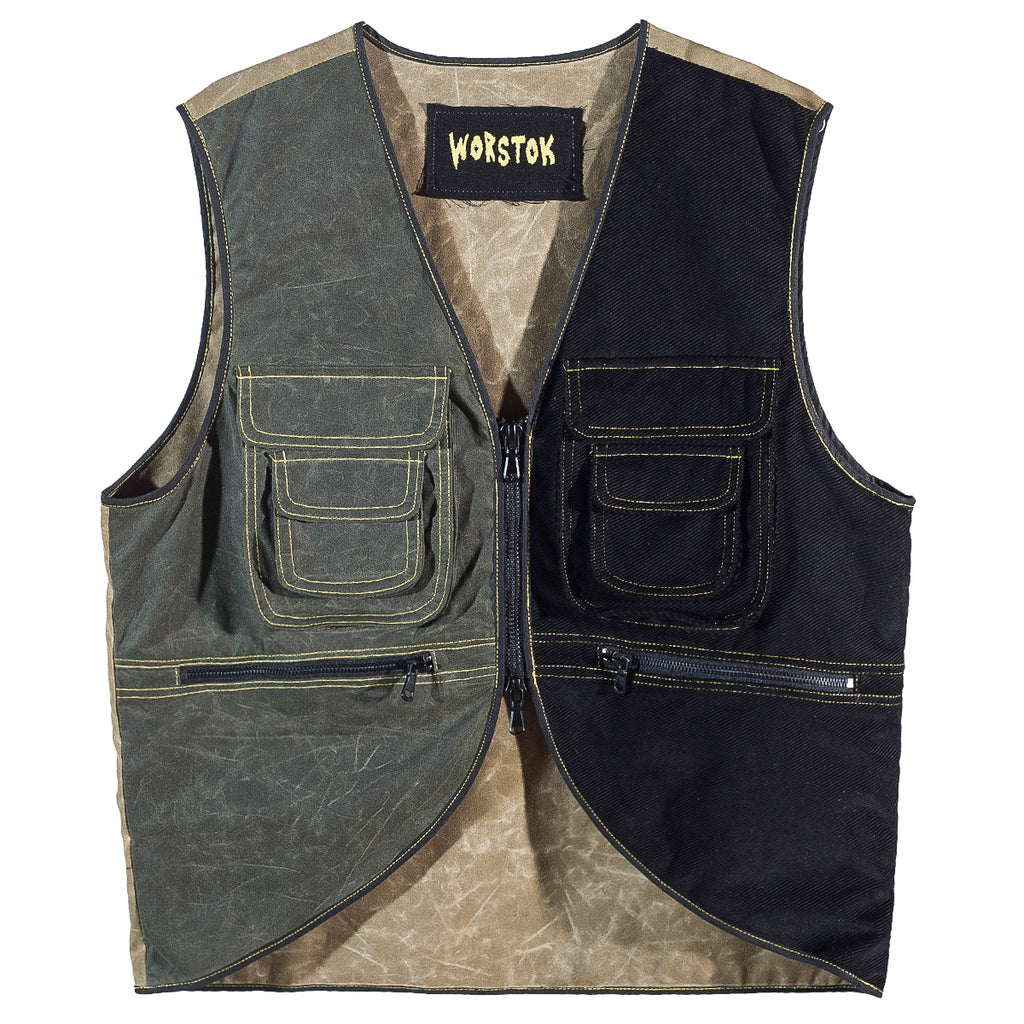 Waxed Utility Vest