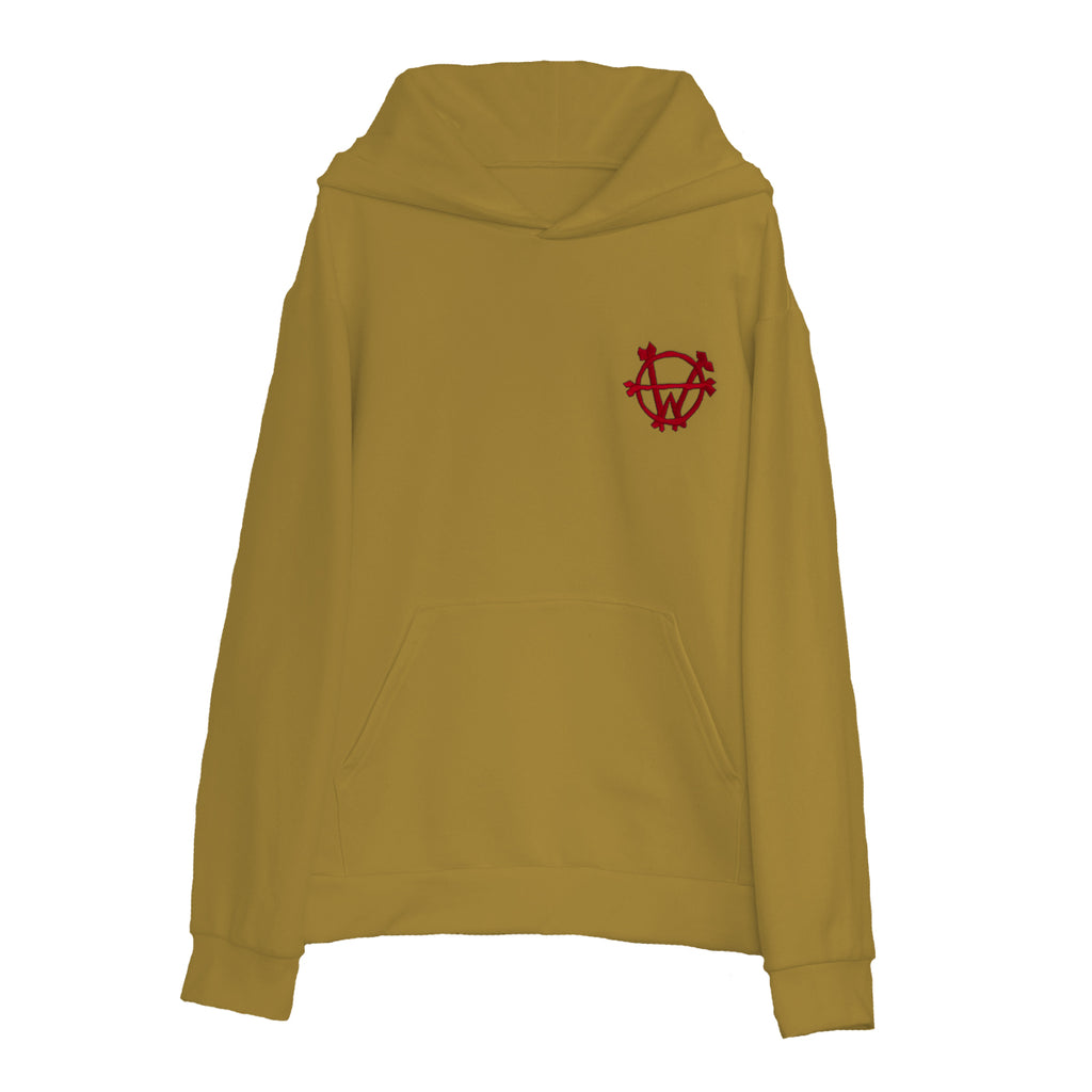 """Fight Club"" Hoodie (Mustard)"