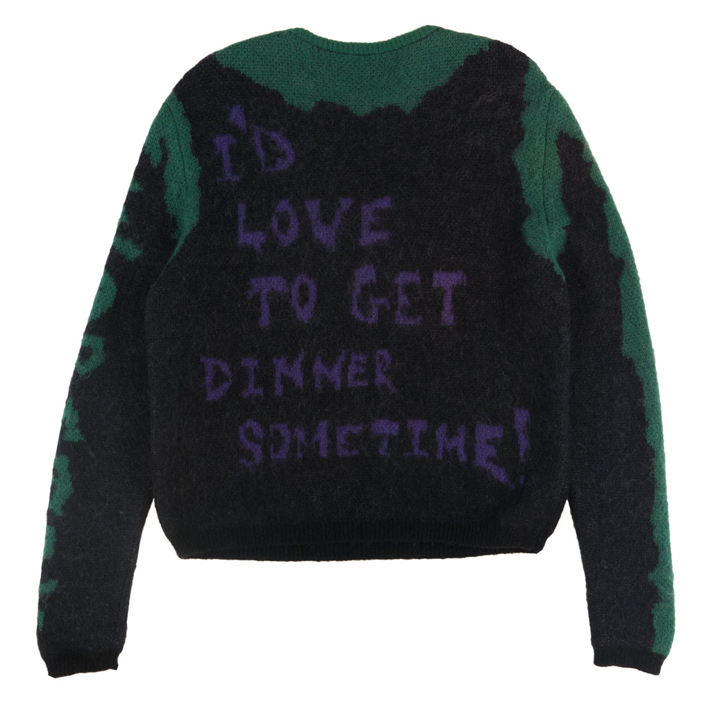 Dinner Time Mohair Sweater
