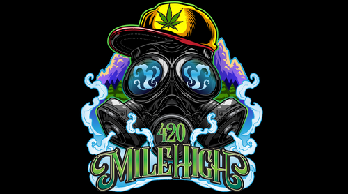 420 Mile High Logo - 420 Mile High