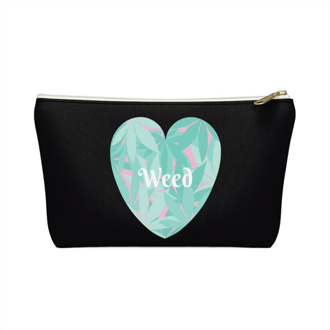 Love Weed Accessory Pouch w T-bottom
