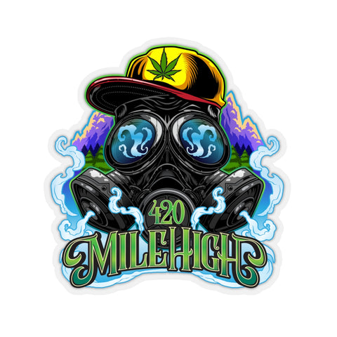 420 Mile High Color Logo Sticker - 420 Mile High