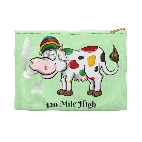 Mooooore Weed Please Accessory Pouch - 420 Mile High
