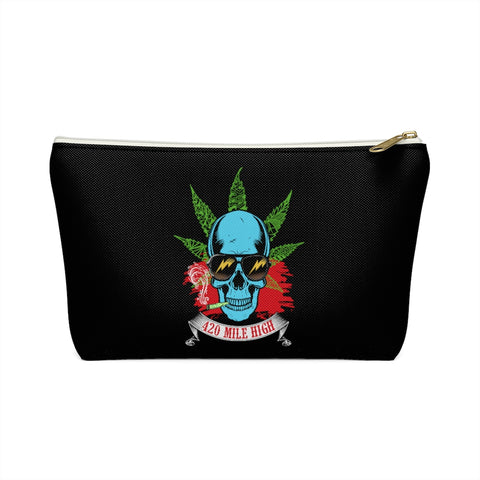 Smoking Weed Accessory Pouch w T-bottom