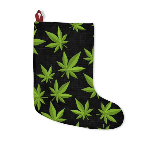 Weed Christmas Stockings