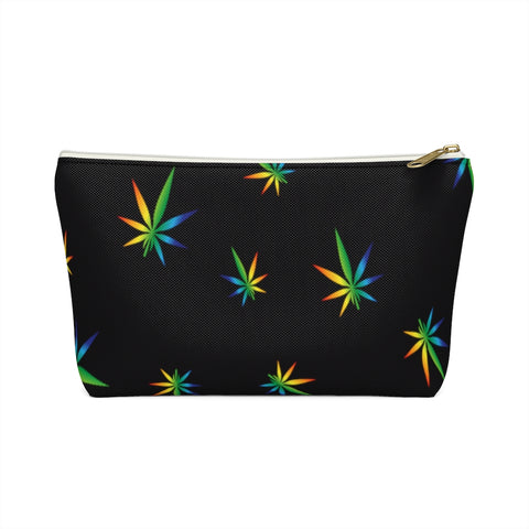 Multi-Color Weed Accessory Pouch w T-bottom