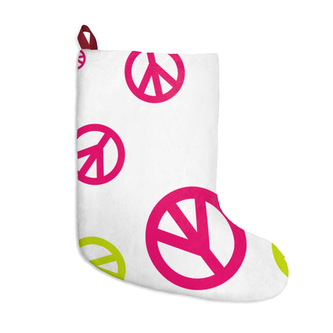 Peace Signs Christmas Stockings