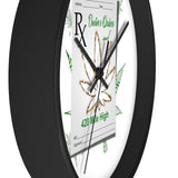 Doctors Orders Weed Wall Clock -420 Mile High