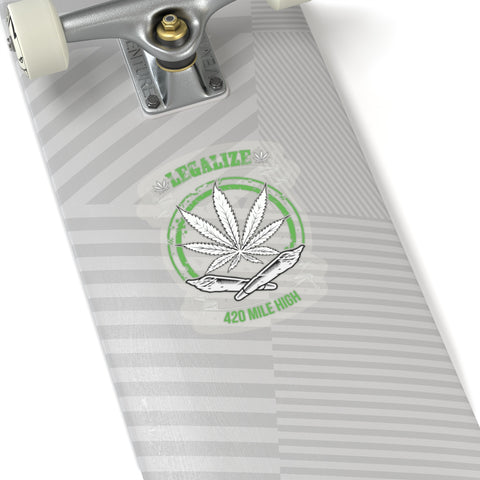 Legalize Marijuana Sticker