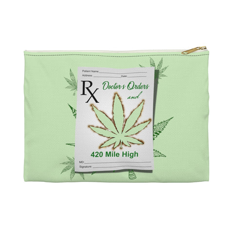Doctor's Orders Weed Accessory Pouch - 420 Mile High