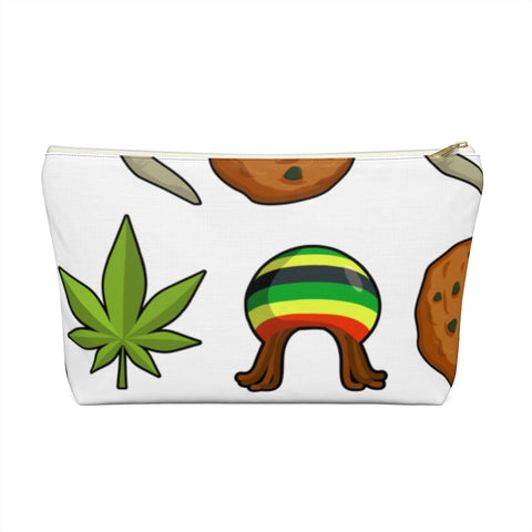 Rasta Life Weed Accessory Pouch w T-bottom | 420 Mile High