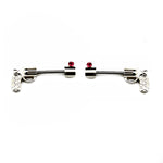 Pink Jewel Gun Nipple Barbell Nipple Rings