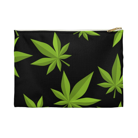 Weed Black Accessory Pouch - 420 Mile High