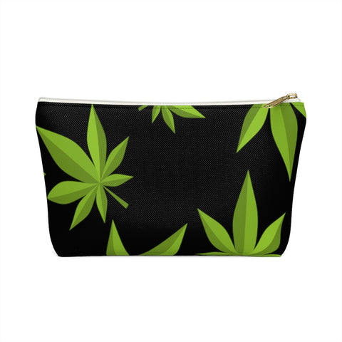 Weed Accessory Black Pouch w T-bottom