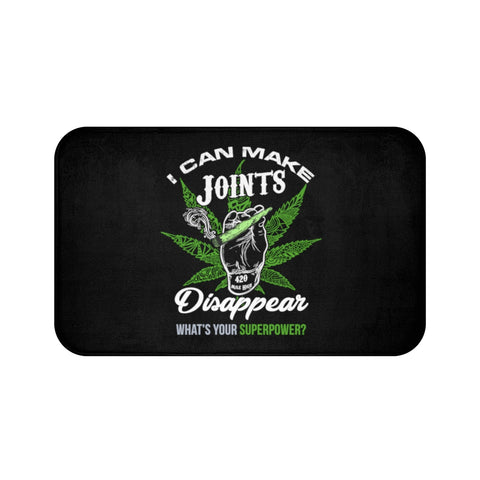 Whats Your Superpower Weed Bath Mats - 420 Mile High