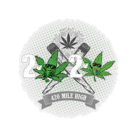 2020 Weed Sticker - 420 Mile High