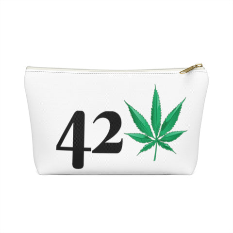 Weed 420 Accessory Pouch w T-bottom