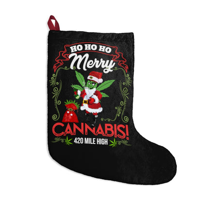 Merry Cannabis Christmas Weed Stockings