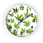 420 Mile High Weed Wall Clock