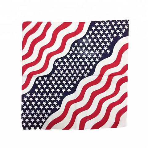 American Flag Bandana - 420 Mile High