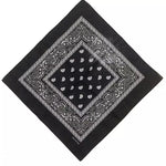 Black Paisley Bandana - 420 Mile High