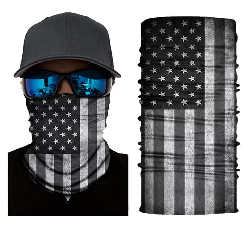American Flag Tube Bandana Face Mask - 420 Mile High