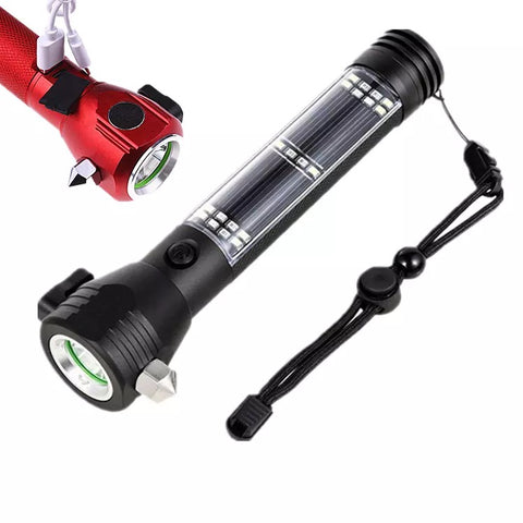 9-in-1 Multi-Function Tactical Survival Emergency Flashlight - 420 Mile High