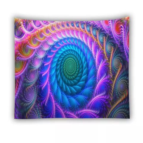 Psychedelic Tapestry Wall Hangings - 420 Mile High