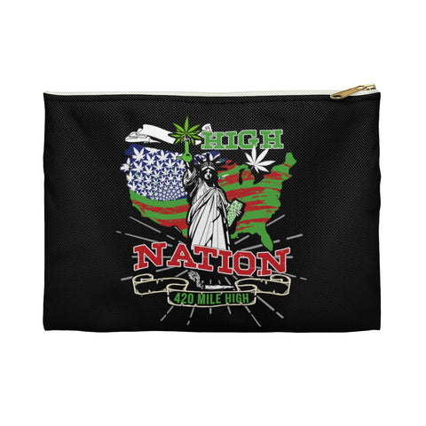 High Nation Weed Flat Pouch - 420 Mile High