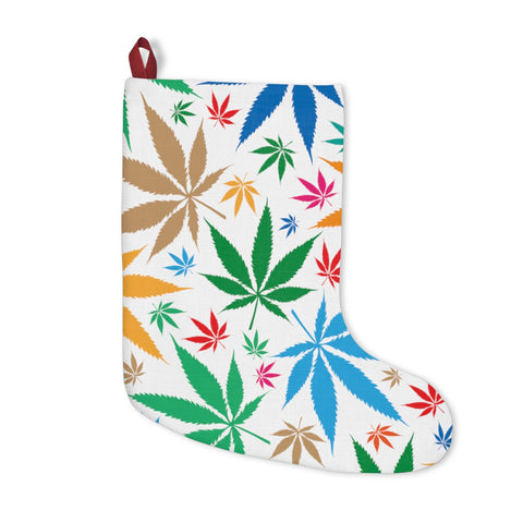 Mulit-Color Weed Christmas Stockings
