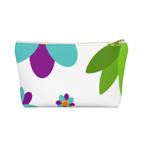Flowers and Weed Accessory Pouch w T-Bottom
