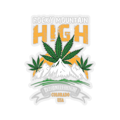 Rocky Mountain High Sticker - 420 Mile High