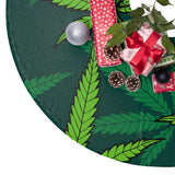Marijuana Christmas Tree Skirt
