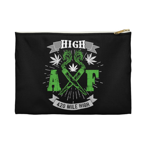 High AF Weed Stash Pouches - 420 Mile High
