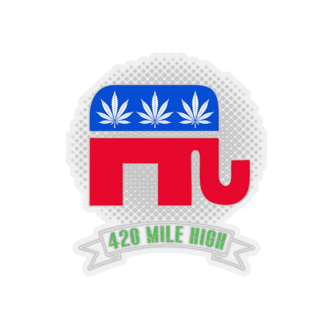 Republican Weed Sticker