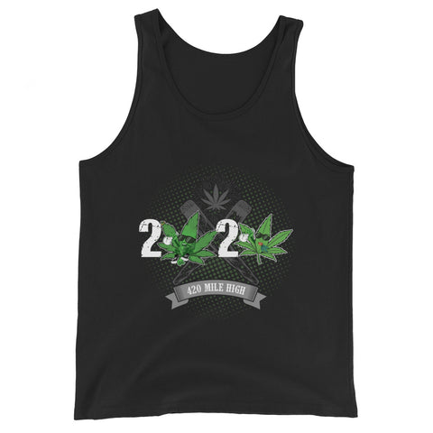 2020 Weed Unisex Tank Top - 420 Mile High