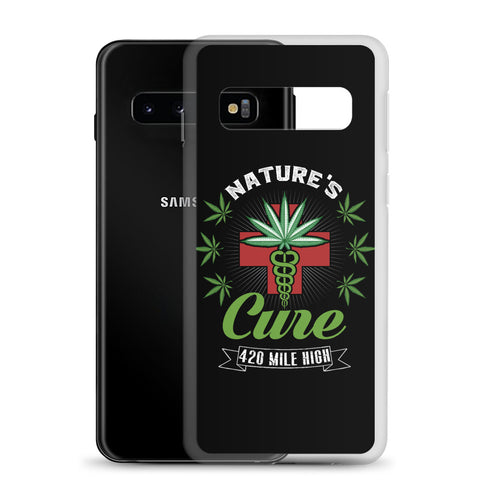 Nature's Cure Samsung 420 Weed Phone Case | 420 Mile High