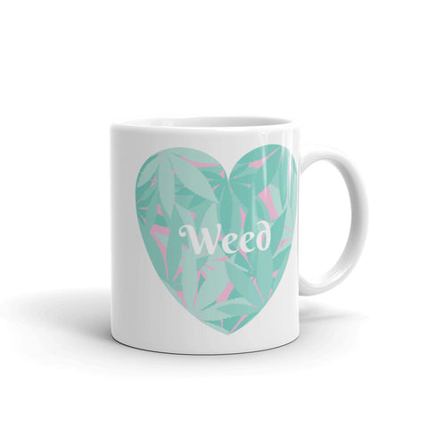 Love Weed Mug - 420 Mile High